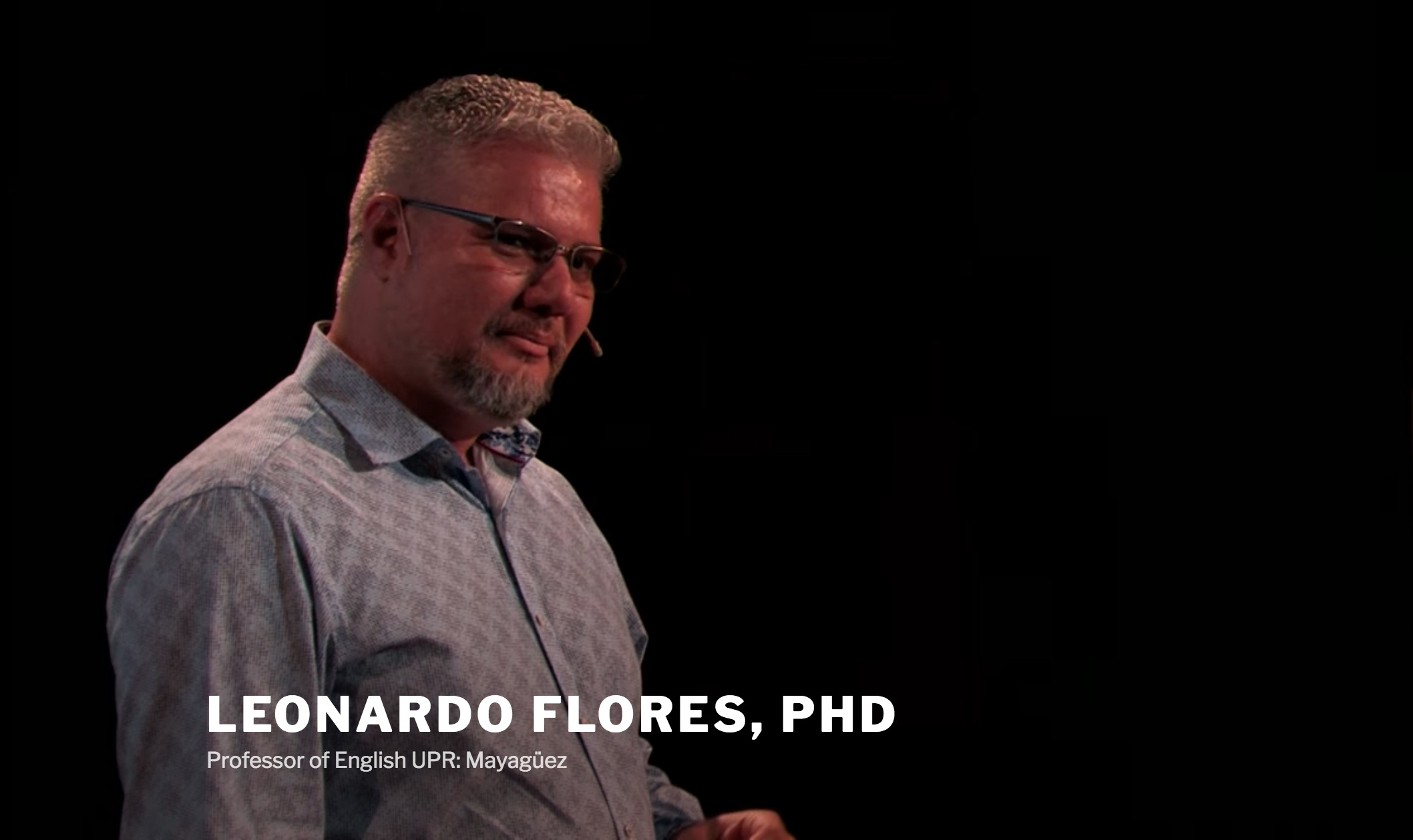 Leonardo Flores (Jan 31 @ 1PM EST)